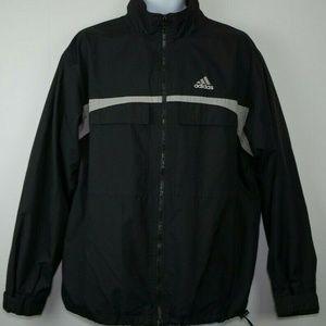 Vintage Adidas Full Jacket Windbreaker Mens Sz M